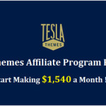 earn money from tesla themeaffiliate_tesla theme review_classiblogger_feature