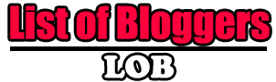 List of Bloggers