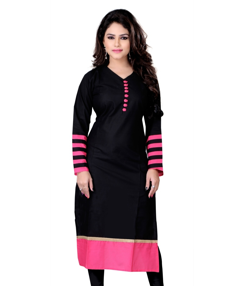 be-your-ethnic-best-with-voonik-and-wforwoman-beautiful-girl-in-churidhar-classiblogger-black-chudi