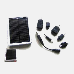 GO GREEN WITH SOLAR MOBILE CHARGERS