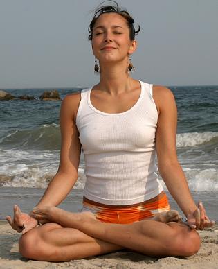 Slim down with Simple Yogasanas