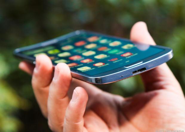 World's First Curviest Smart phone