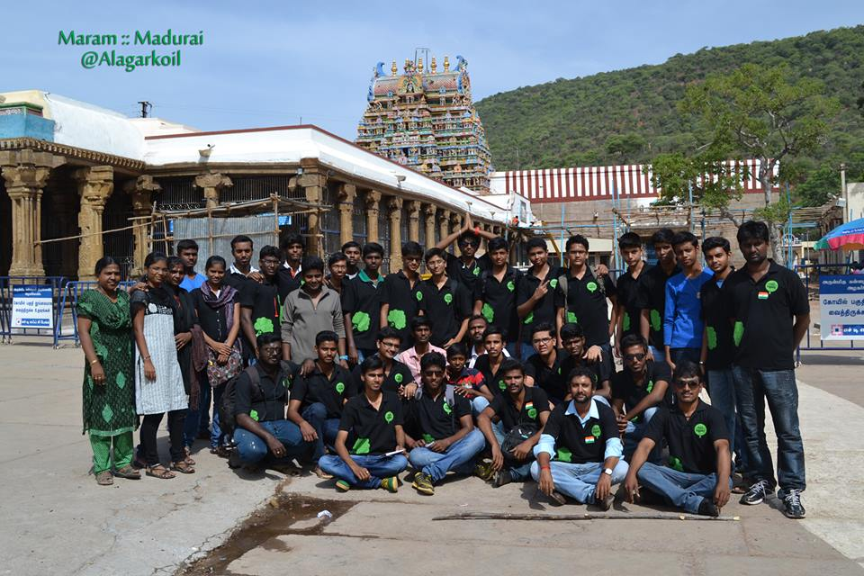 A Team of Planting Trees – Maram Madurai