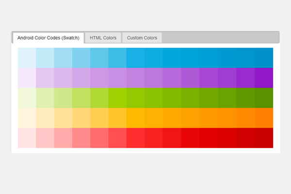 Android Color Generator- A must-have tool for Android designers