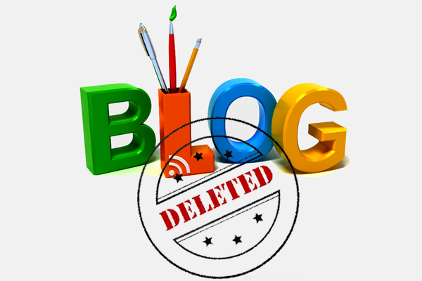 reasons to delete or suspend a blog_classiblogger_image