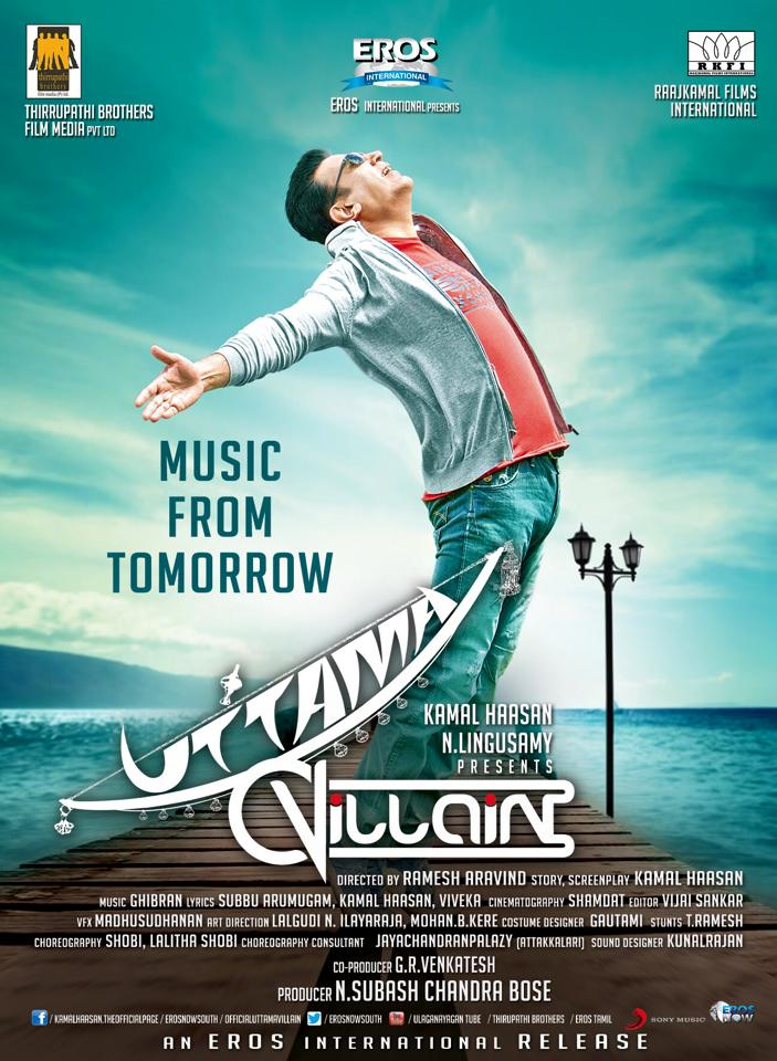 March 1: The Music launch Date of Uttama Villain