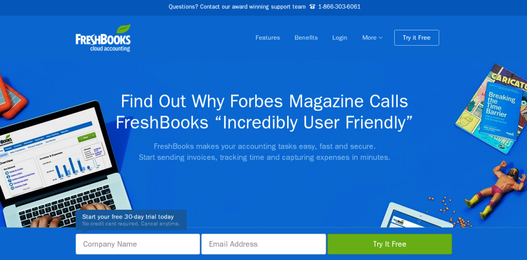 Freshbooks_sign up_free software download_classiblogger