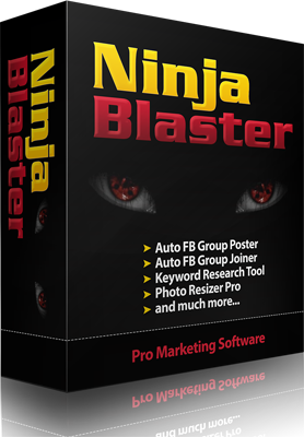 Ninja Blaster – Best Marketing Software (All in One)