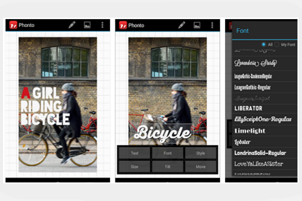 10 Cool Typography Apps_Phonto_classiblogger