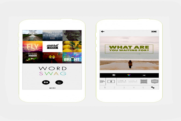 10 Cool Typography Apps_Word Swag_classiblogger