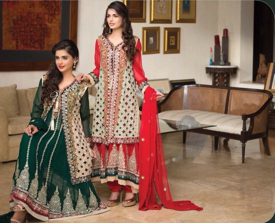Top 5 Design of Pakistani Salwar Kameez_1_classiblogger