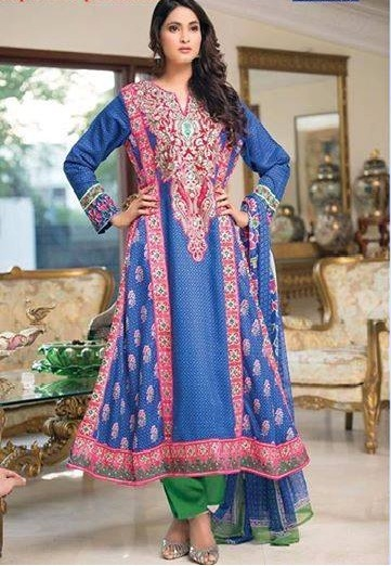 Top 5 Design of Pakistani Salwar Kameez_2_classiblogger