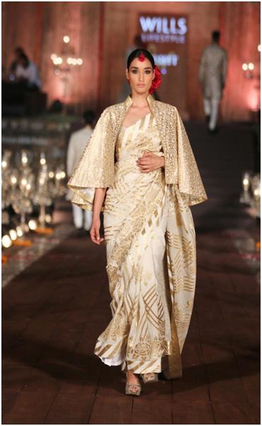 List of Designer Sarees to buy online_Rohit Bal Sarees_classiblogger 7