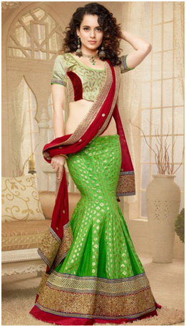 different ways to wear saree_different types to wear saree_Mermaid Style_classiblogger_1