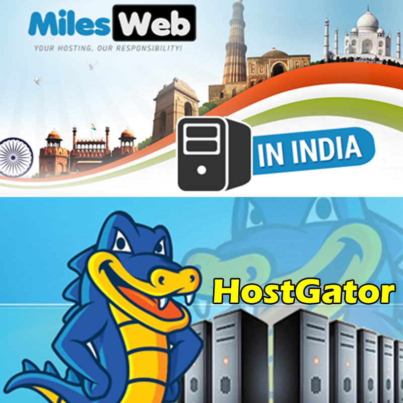 MILESWEB v/s HOSTGATOR: Who is the best for WordPress Hosting in India?