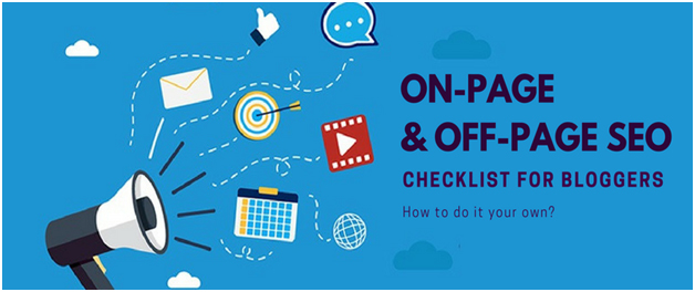 On-page and Off-page SEO checklist for bloggers