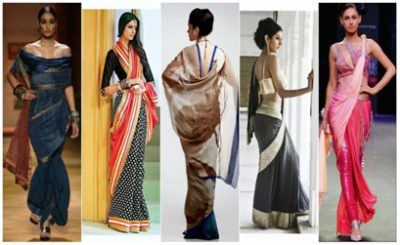6 Easy Tips To Look Slim In A Saree-classiblogger-4
