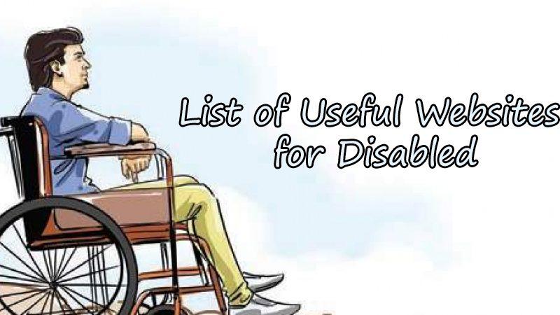 List of Disabled Websites