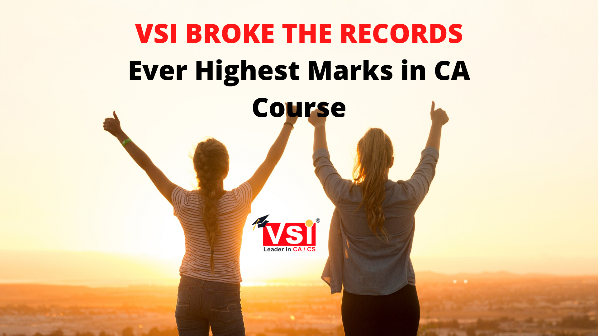 VSI Broke the Records- Ever Highest Marks in CA Exams?
